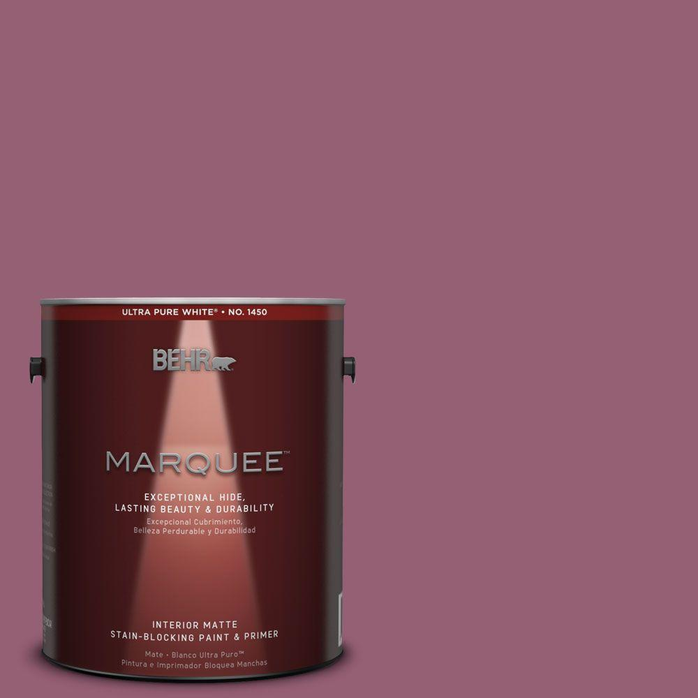 1 gal. #MQ1-3 Glitz and Glamour One-Coat Hide Matte Interior Paint
