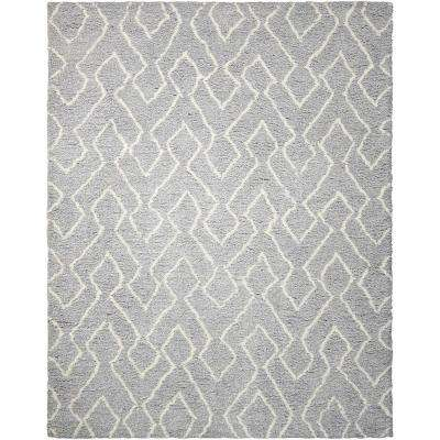 Galway Slate/Ivory 8 ft. x 10 ft. Area Rug