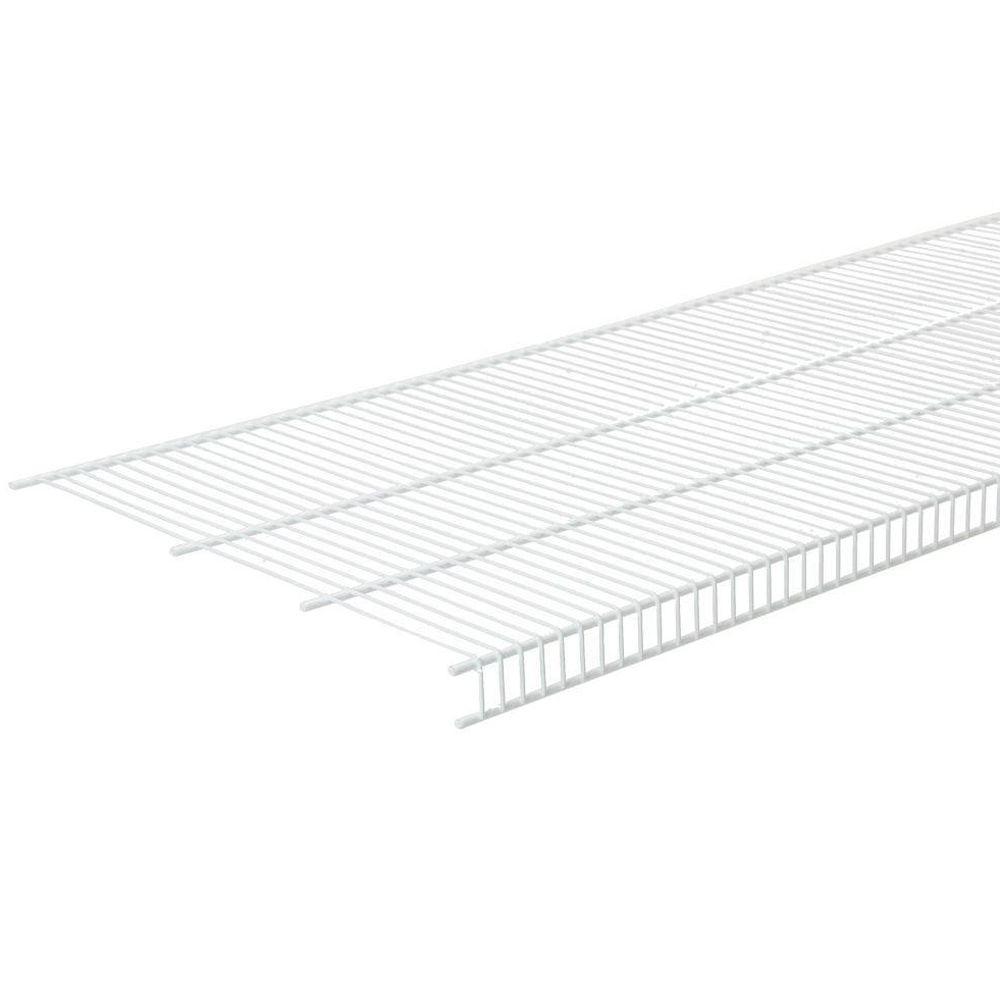 closetmaid close mesh 72 in  x 16 in  ventilated wire shelf-1395