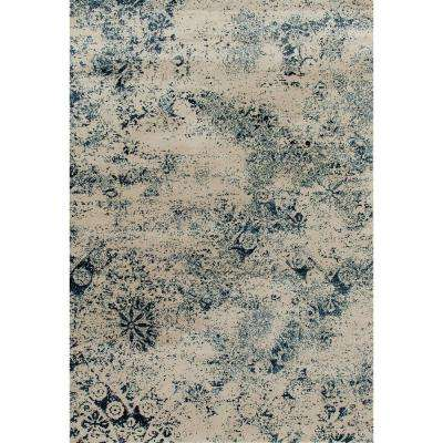 Karelia Cumulus Steel blue 10 ft. 11 in. x 15 ft. Area Rug
