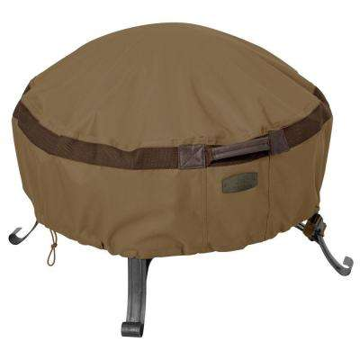 Hickory Round 36 in. Full Coverage Fire Pit Cover