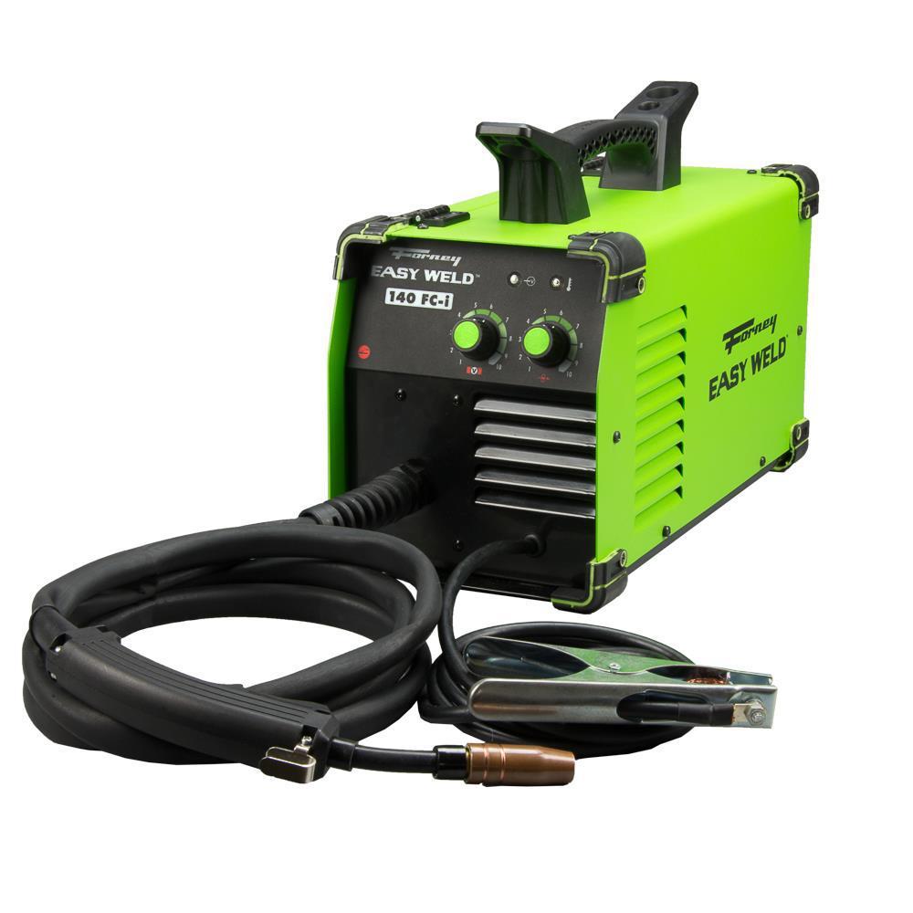 Forney 120-Volt 140 Amp Easy Weld FC-i Flux Core Gasless Welder