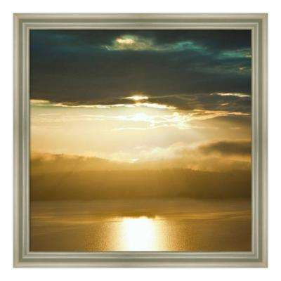 """""""Orcas Sunset 1"""" by Golie Miamee Framed Canvas Wall Art"""