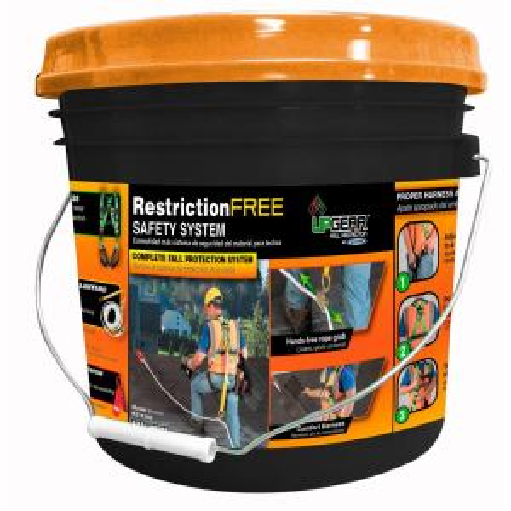 Werner UpGear Restriction Free Roofing Safety System K211202   The Home  Depot