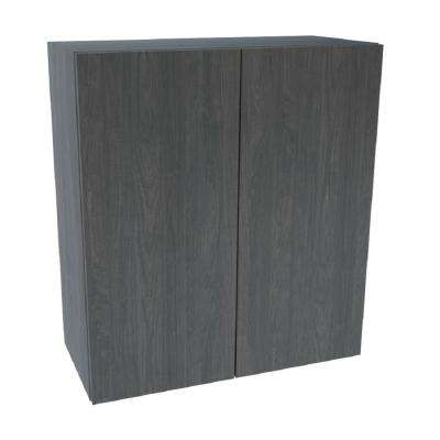 Ready to Assemble 30x42x12 in. Wall Cabinet in Carbon Marine Wood