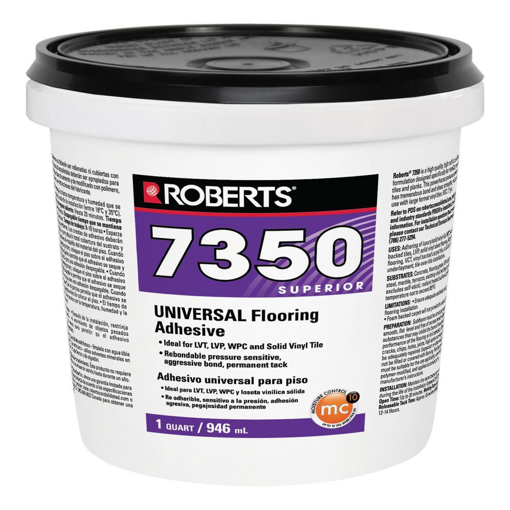 7350 1 Qt Universal Flooring Adhesive