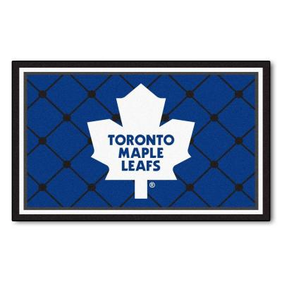 Toronto Maple Leafs 4 ft. x 6 ft. Area Rug