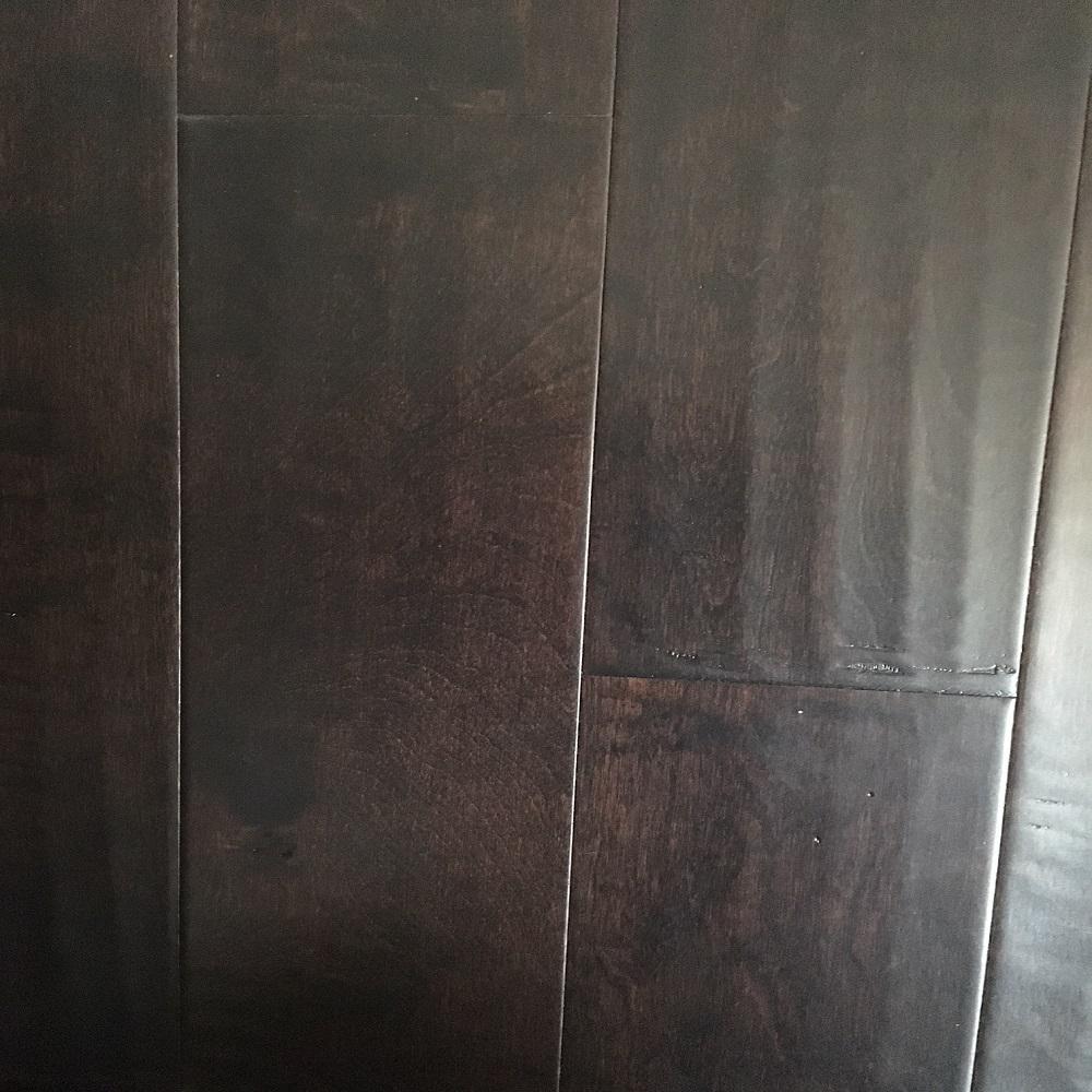 Dekorman River Birch 3/8 in. Thick x 5 in. Wide x Random Length Click Hand Scraped Engineered Hardwood Flooring (31 sq. ft./case)