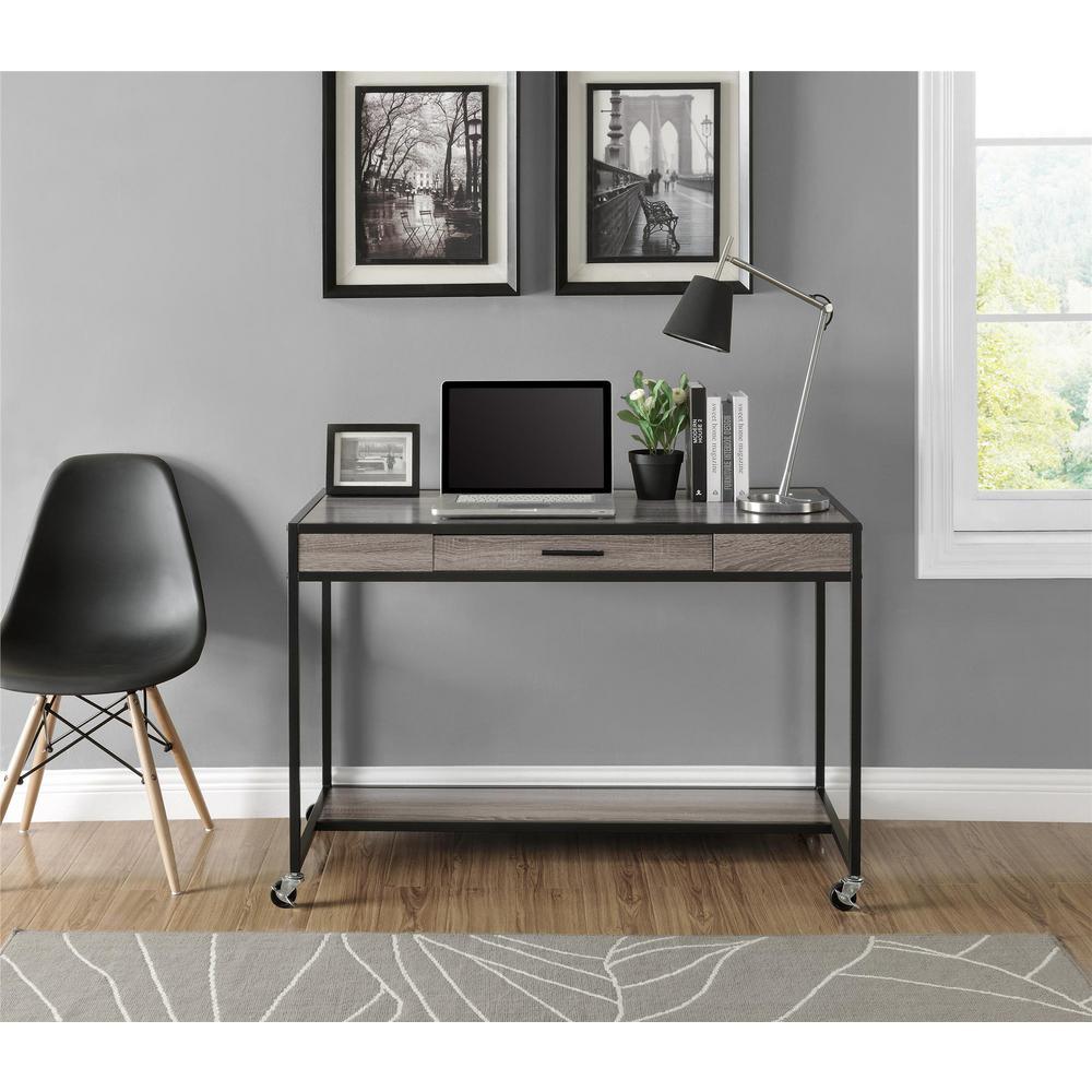 Altra Furniture Mason Black Desk by Altra Furniture