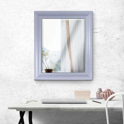 Tranquility Rectangular White Vanity Mirror