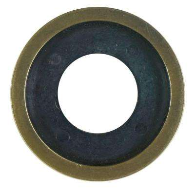 Decorative Gas Valve Flange Ring in Antique Brass