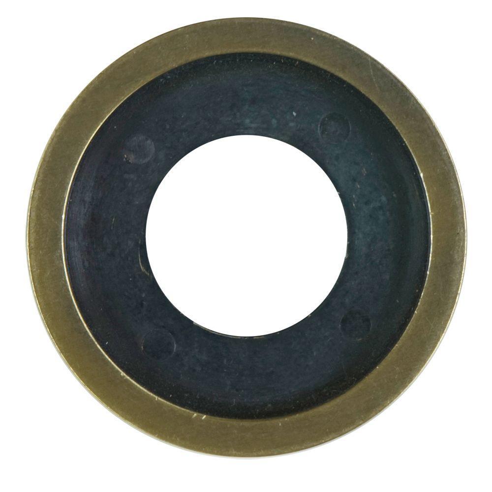 Decorative Gas Valve Flange Ring in Antique Brass