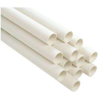 4 in. x 10 ft. PVC-DWV Pipe, Schedule 40, Cellular Core