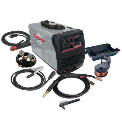 180 Amp Dual Voltage Inverter MIG/Stick Welder