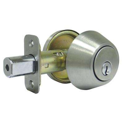 Stainless Steel Single Cylinder Deadbolt