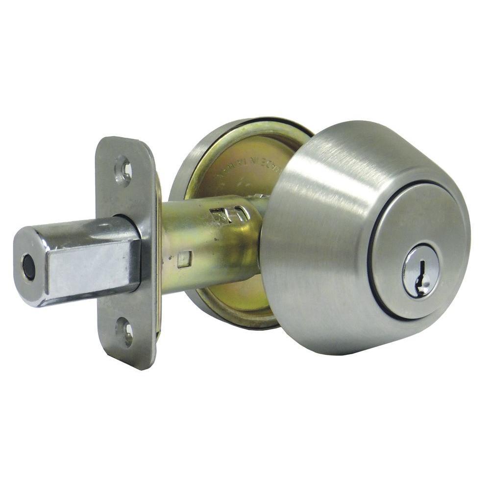 Stainless Steel Single Cylinder Deadbolt