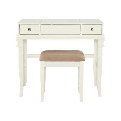 White - Makeup Vanities - Bedroom Furniture - The Home Depot