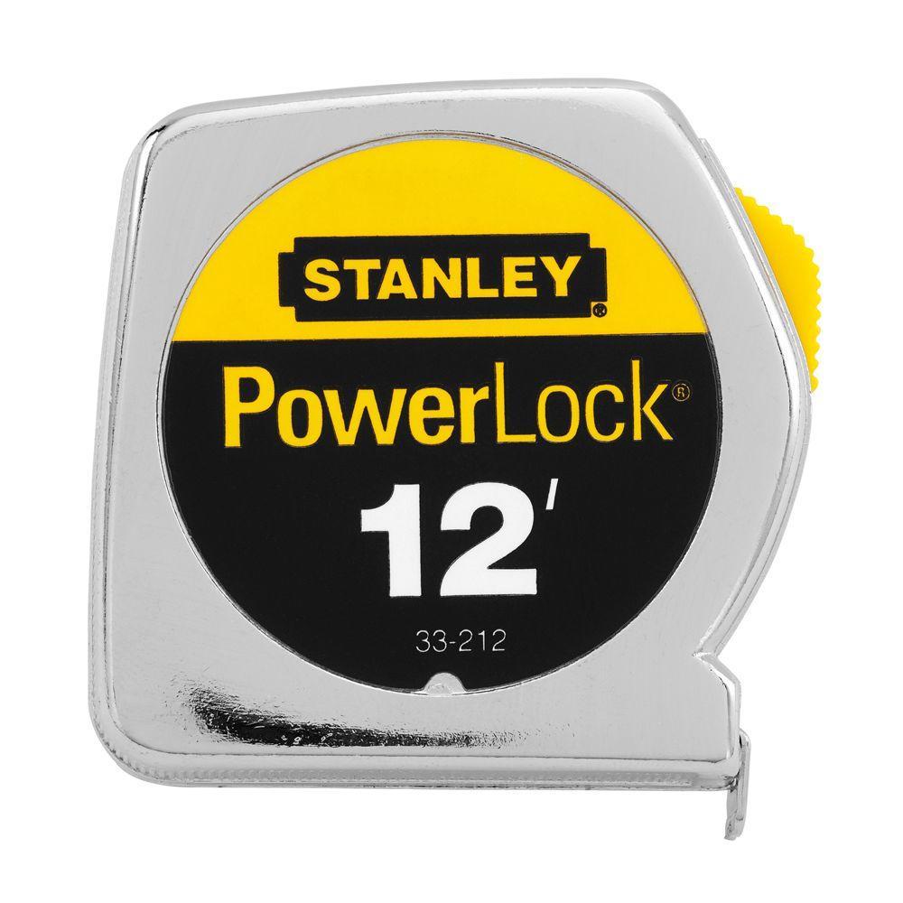 12 ft. x 1/2 inch PowerLock Tape Rule