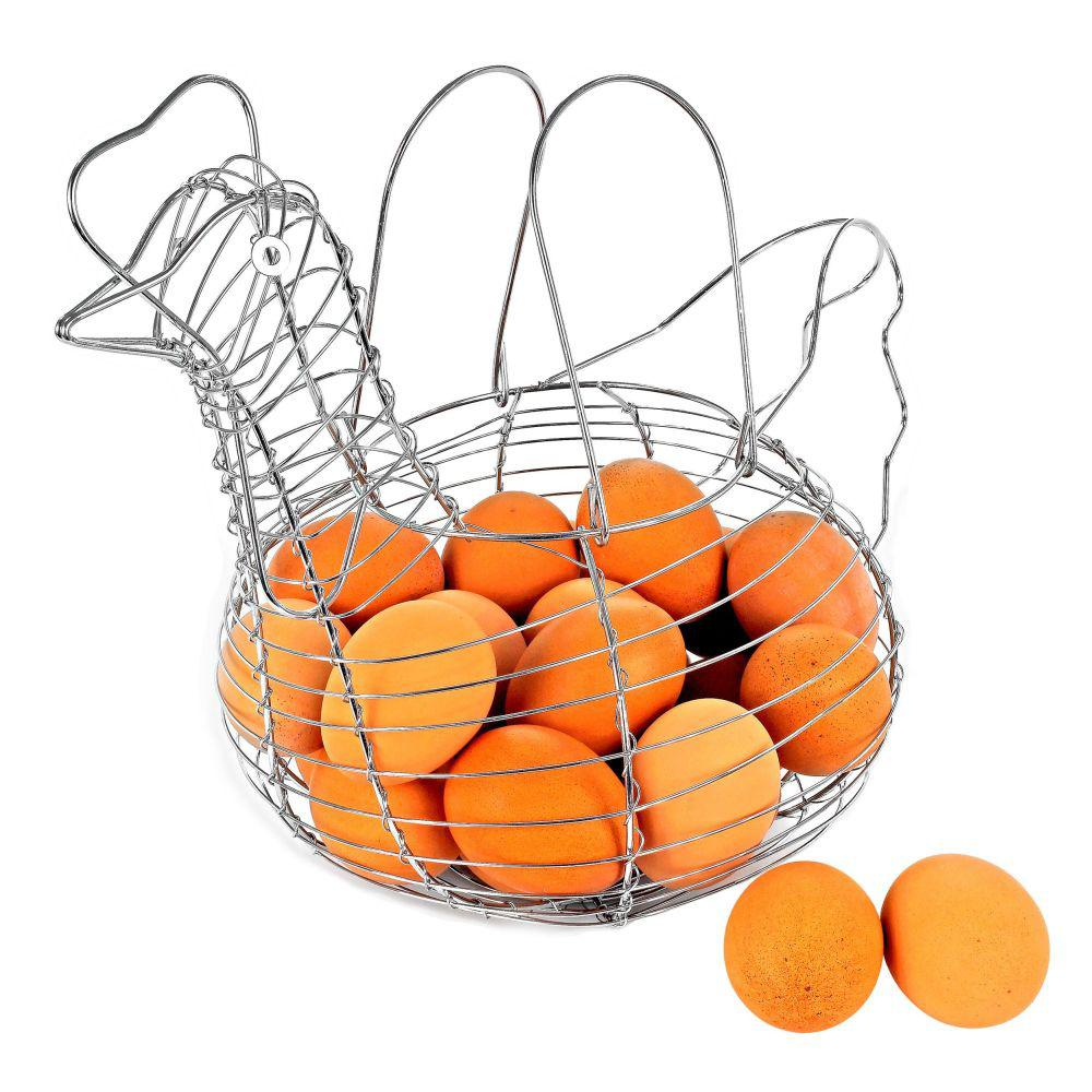 Chicken Egg Wire Basket