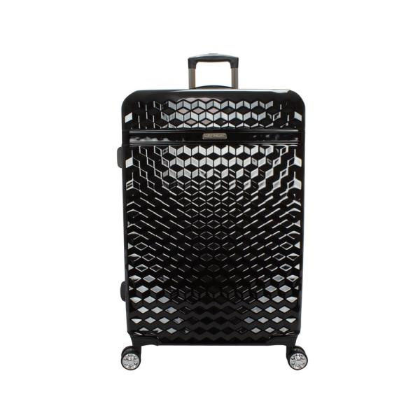 Kathy Ireland Audrey 29 in. Black Hardside Spinner Luggage