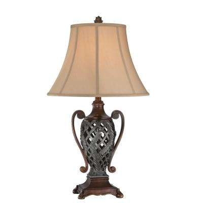 Designer Collection 29 in. Two Tone Table Lamp