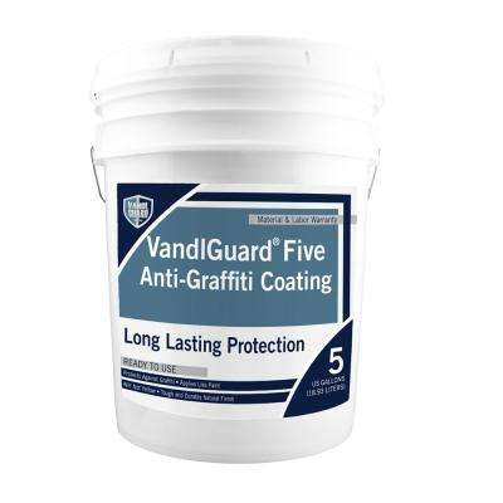 VandlSystem 5 gal. VandlGuard Five Non-Sacrificial Anti-Graffiti Coating