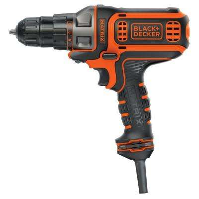 Matrix 4 Amp 3/8 in. Corded Drill and Driver