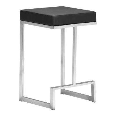 Darwen 26 in. Black Counter Stool