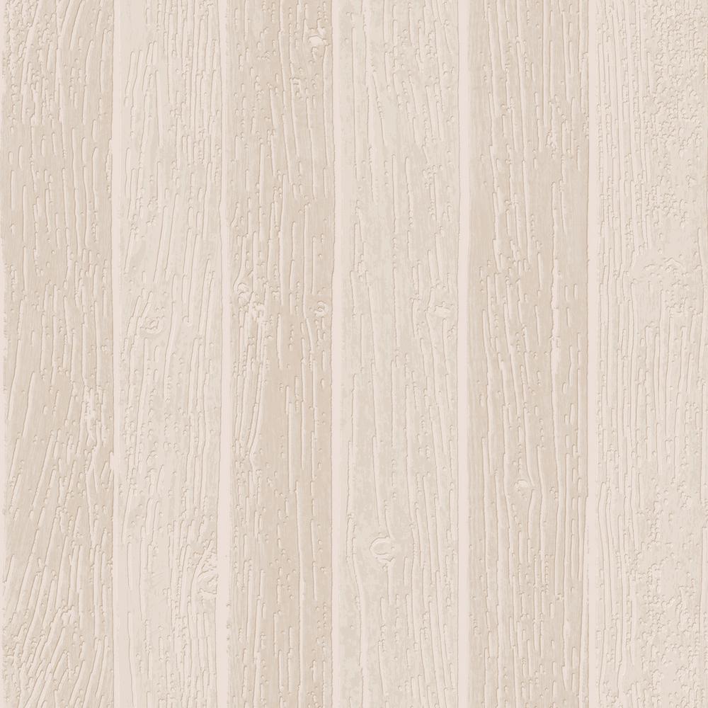 Graham Brown Beige Nautical Woodgrain Removable Wallpaper