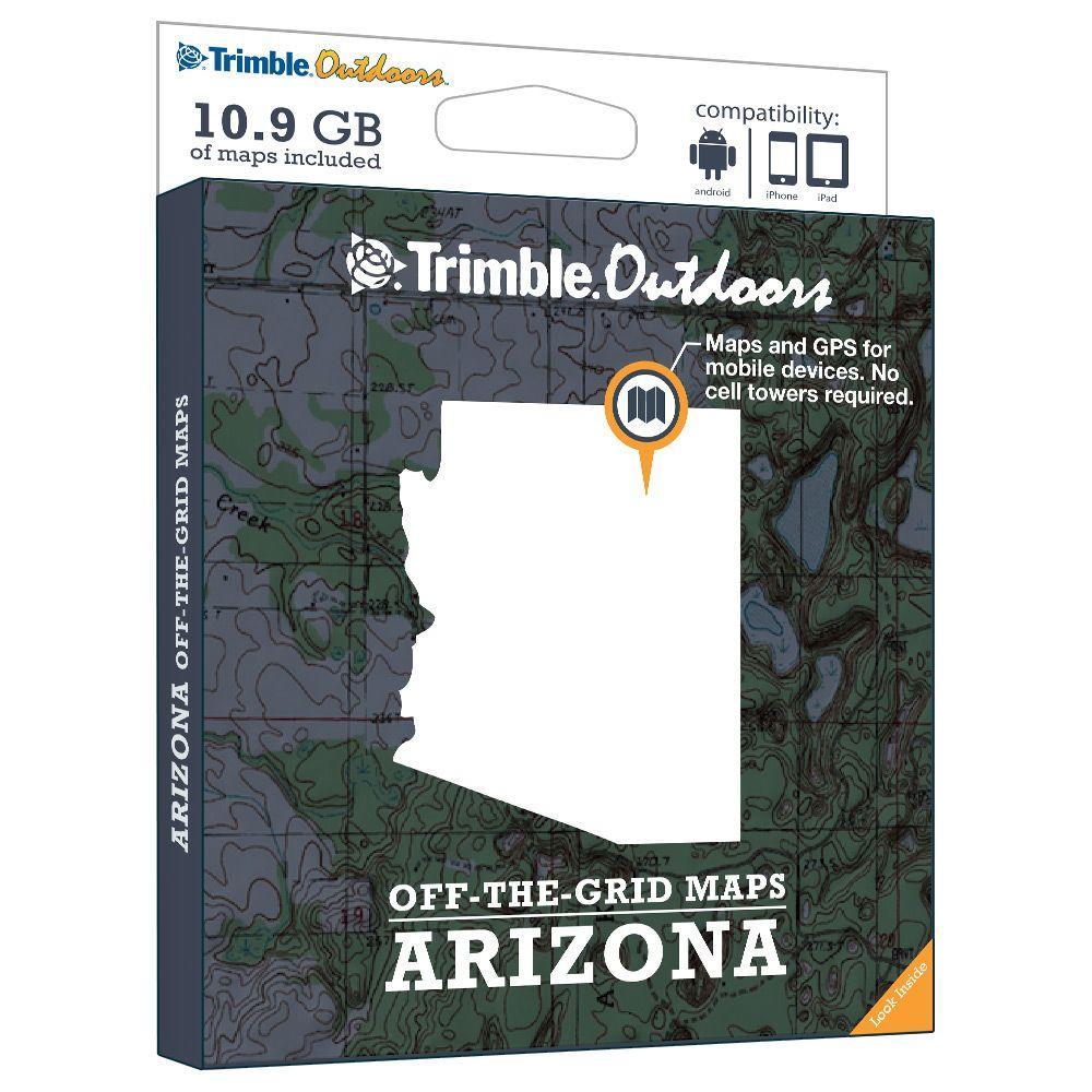 Trimble Outdoors Arizona Off-The-Grid Maps