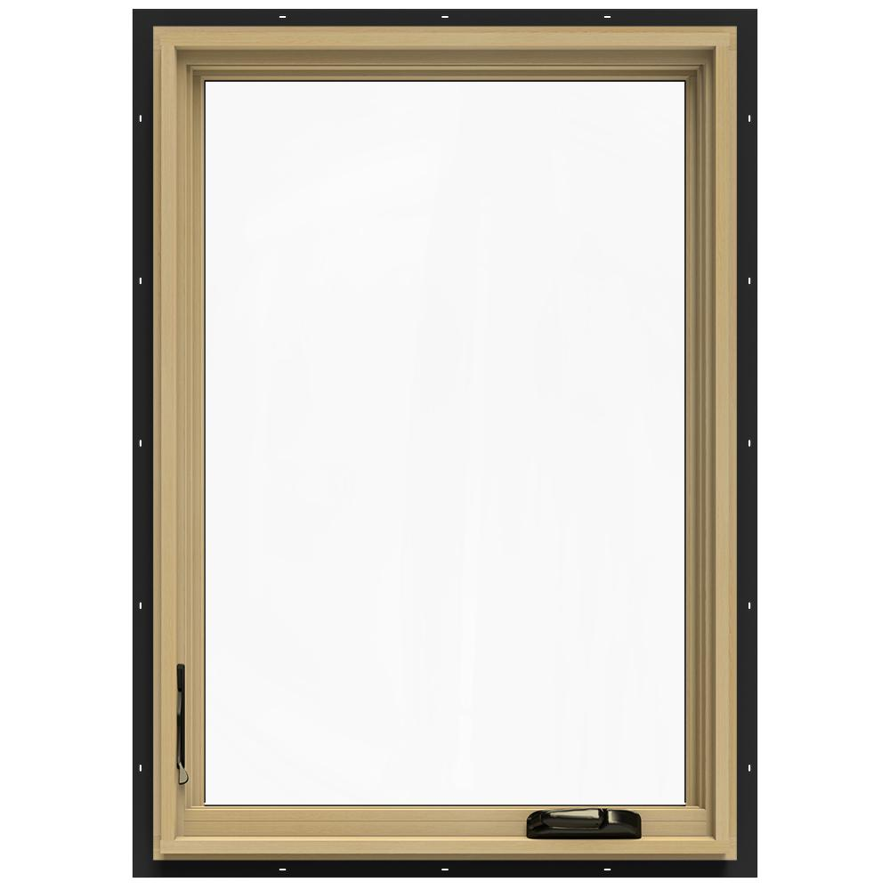 24-3/4 in. x 40-3/4 in. W-2500 Left-Hand Casement Wood Window