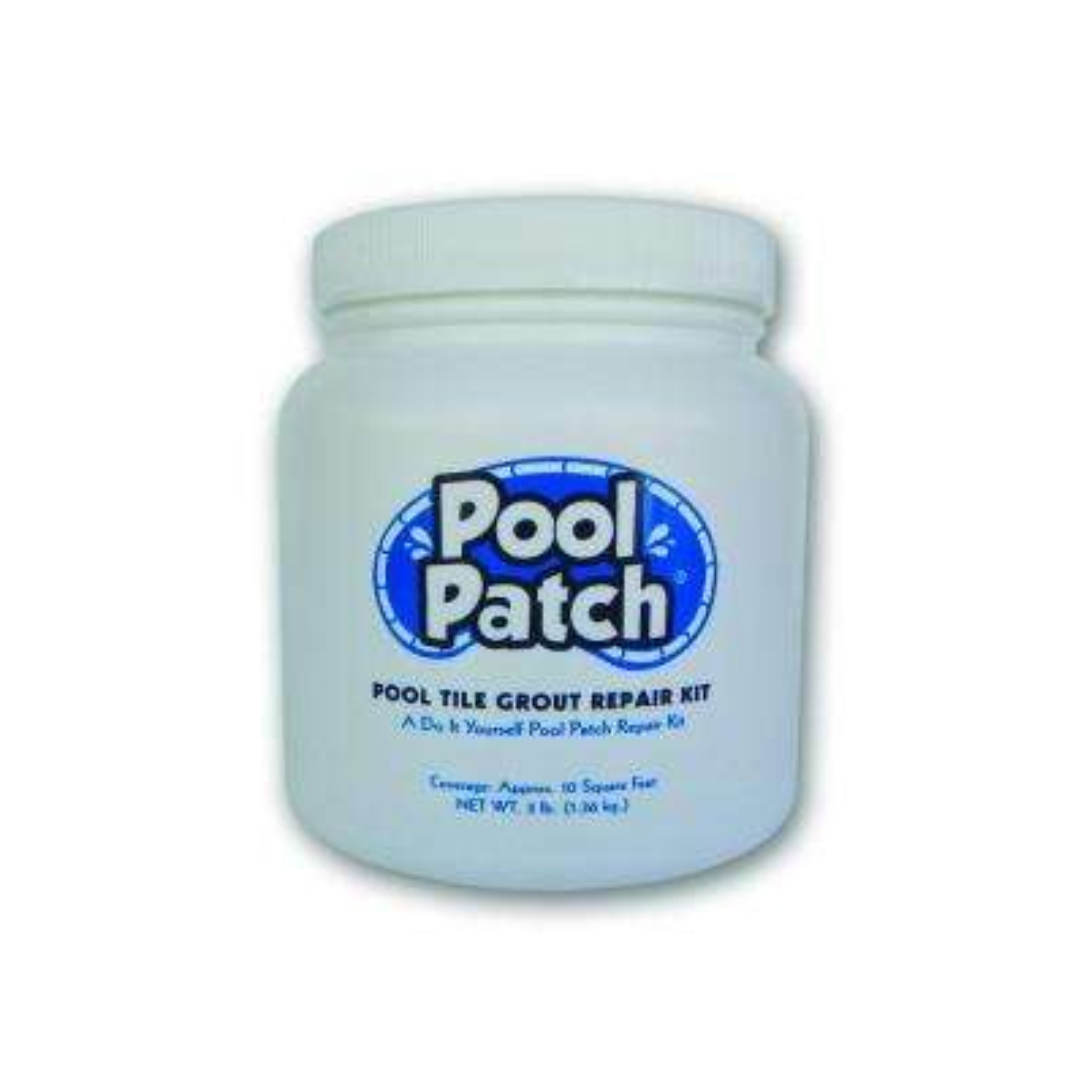 3 lb. White Pool Tile Grout Repair Kit