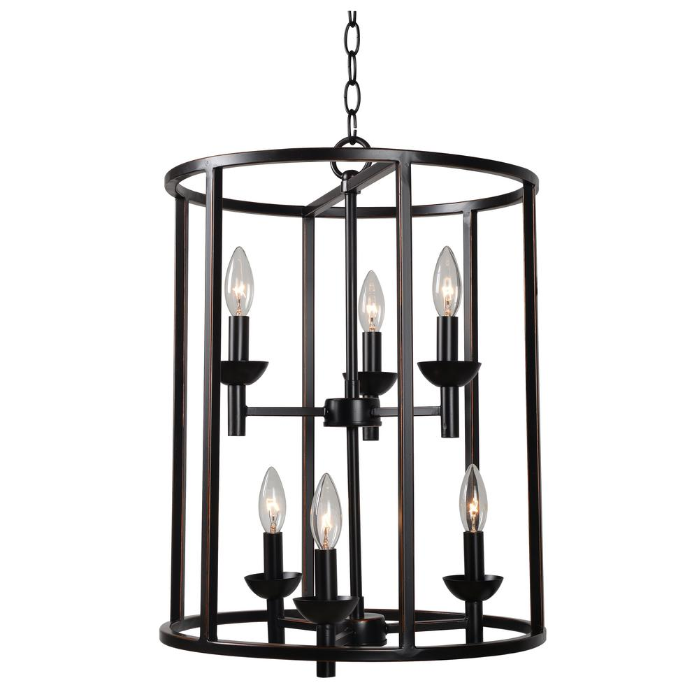 Foyer Pendant Lighting Bronze : Kenroy home arlen light bronze foyer pendant orb