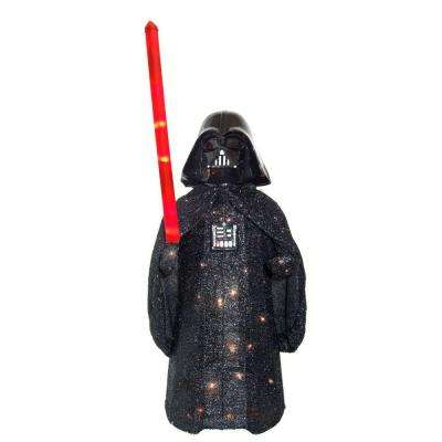 36 in. Darth Vader Star Wars Tinsel Yard Decor