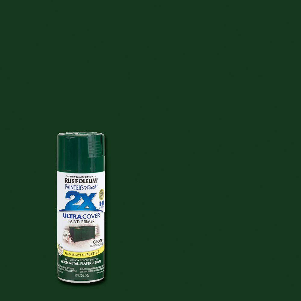 12 oz. Gloss Hunter Green General Purpose Spray Paint