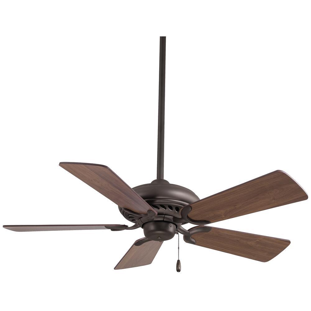 Supra 44 in. Indoor Oil Rubbed Bronze Ceiling Fan