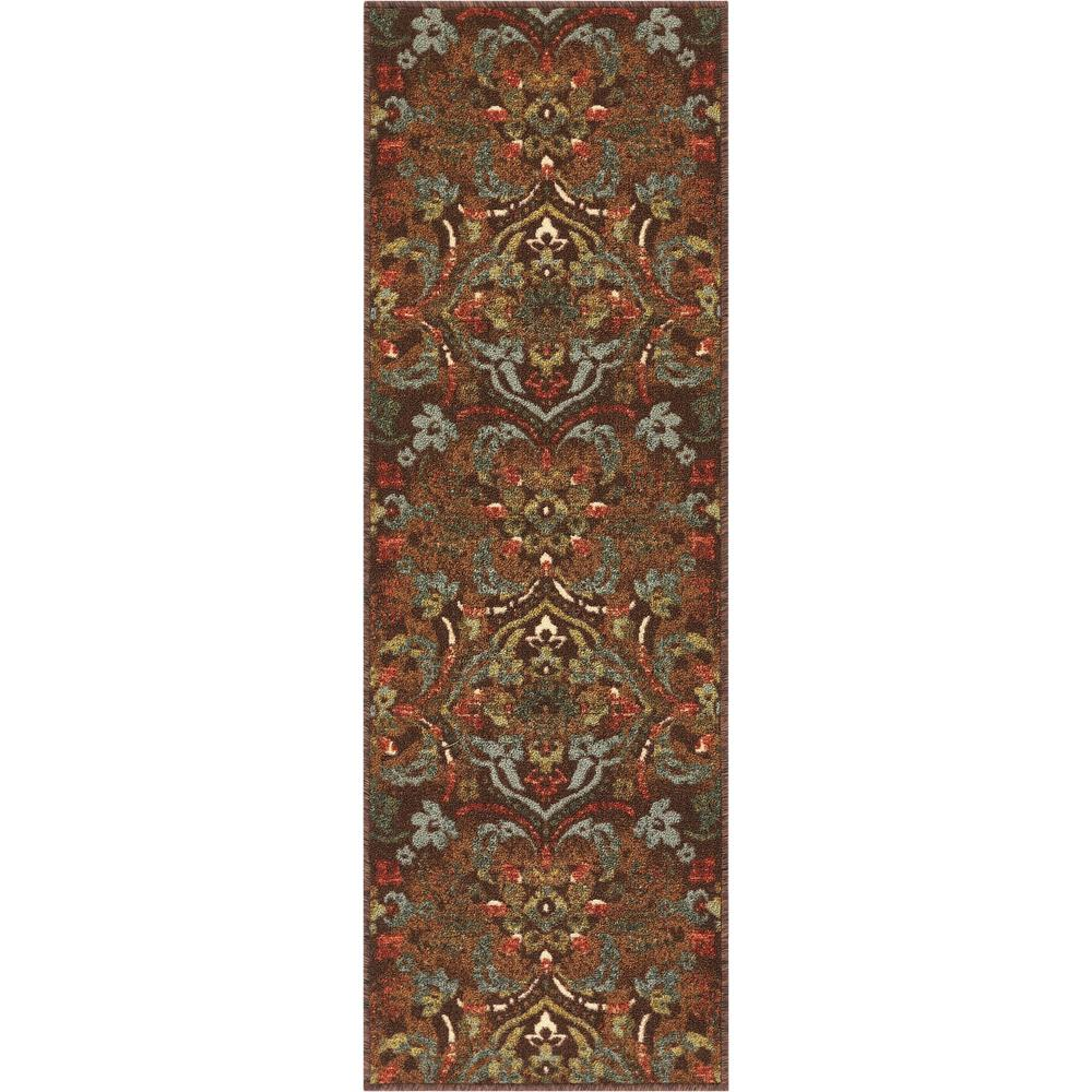 Well Woven Kings Court Florence Brown 2 Ft X 7 Ft