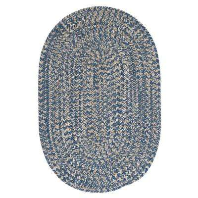 Cicero Denim 10 ft. x 13 ft. Area Rug