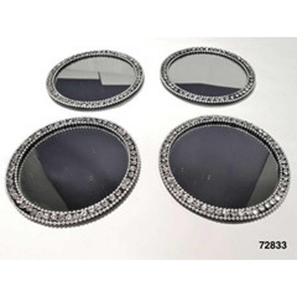 Brilliant Mirror Coasters (Set of 4)