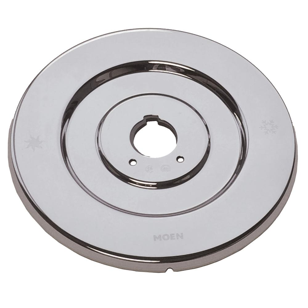 Attractive MOEN Chateau Escutcheon For Single Handle Tub And Shower Valves In Chrome