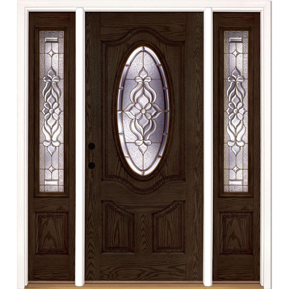 Feather River Doors 63 5 In X81 625 In Lakewood Brass 3 4