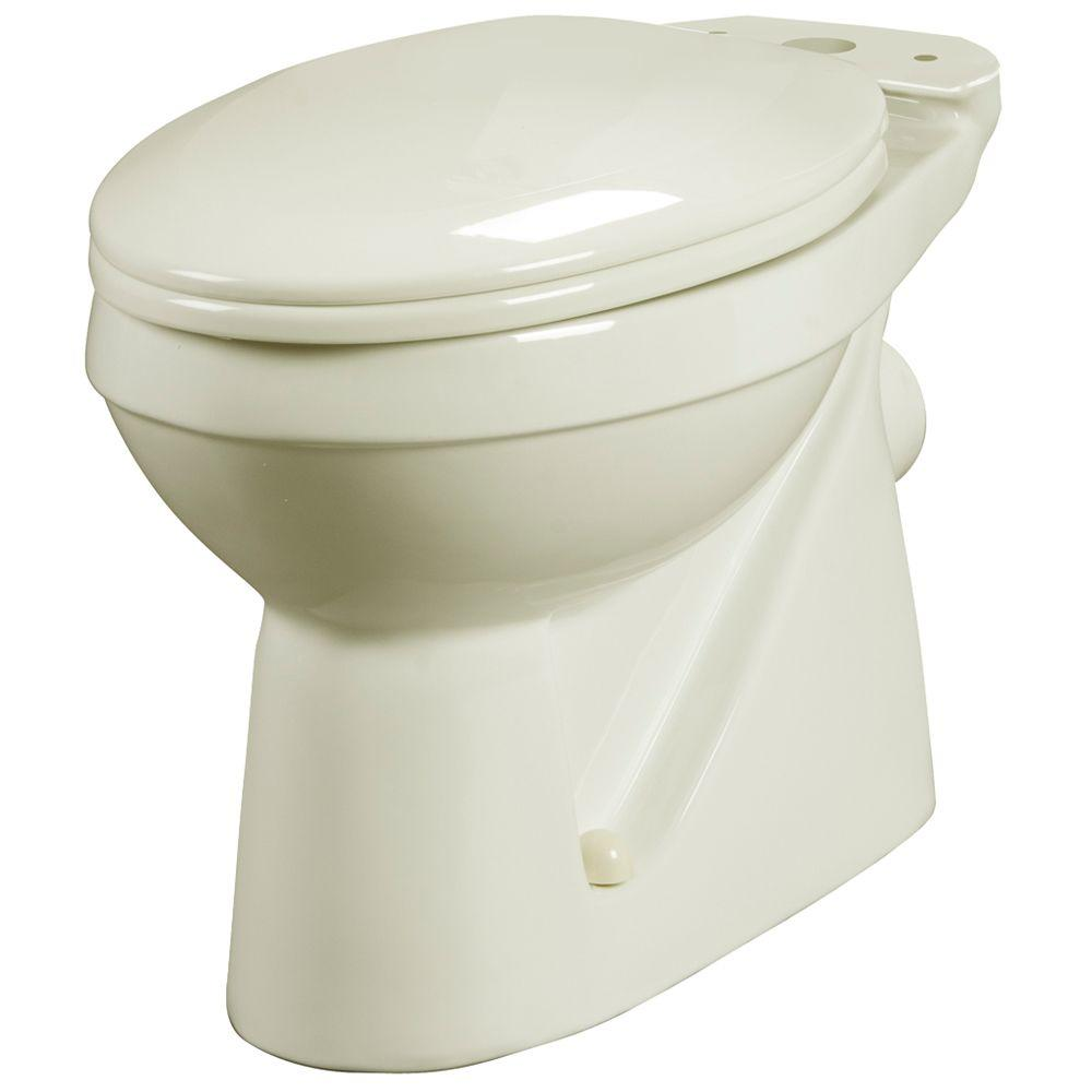 Bathroom Anywhere Elongated Toilet Bowl Only in Bone