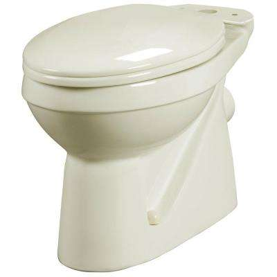 Elongated Toilet Bowl Only in Bone
