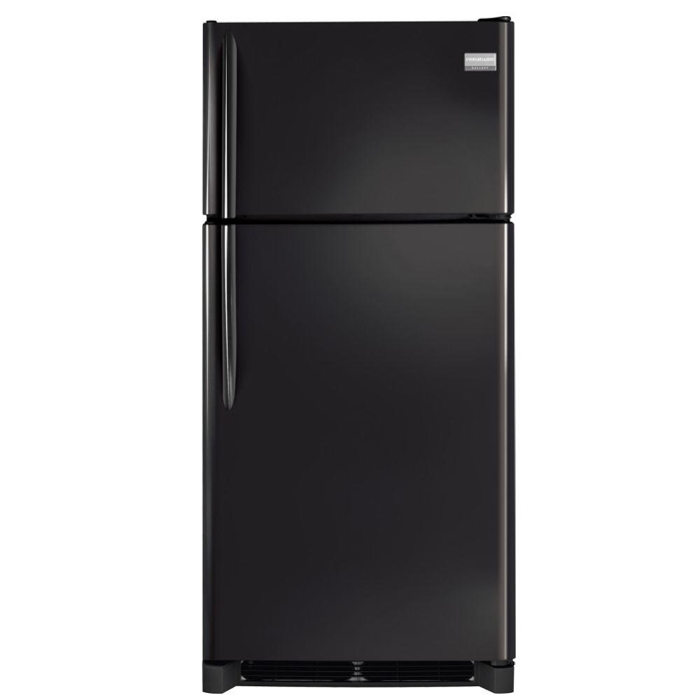 Frigidaire Gallery 18.3 cu. ft. Top Freezer Refrigerator in Ebony, ENERGY STAR