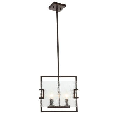 Anares II 2-Light Black Bronze Pendant
