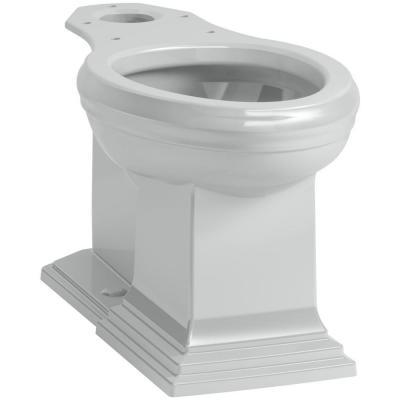 Memoirs Elongated Toilet Bowl Only in Ice Grey