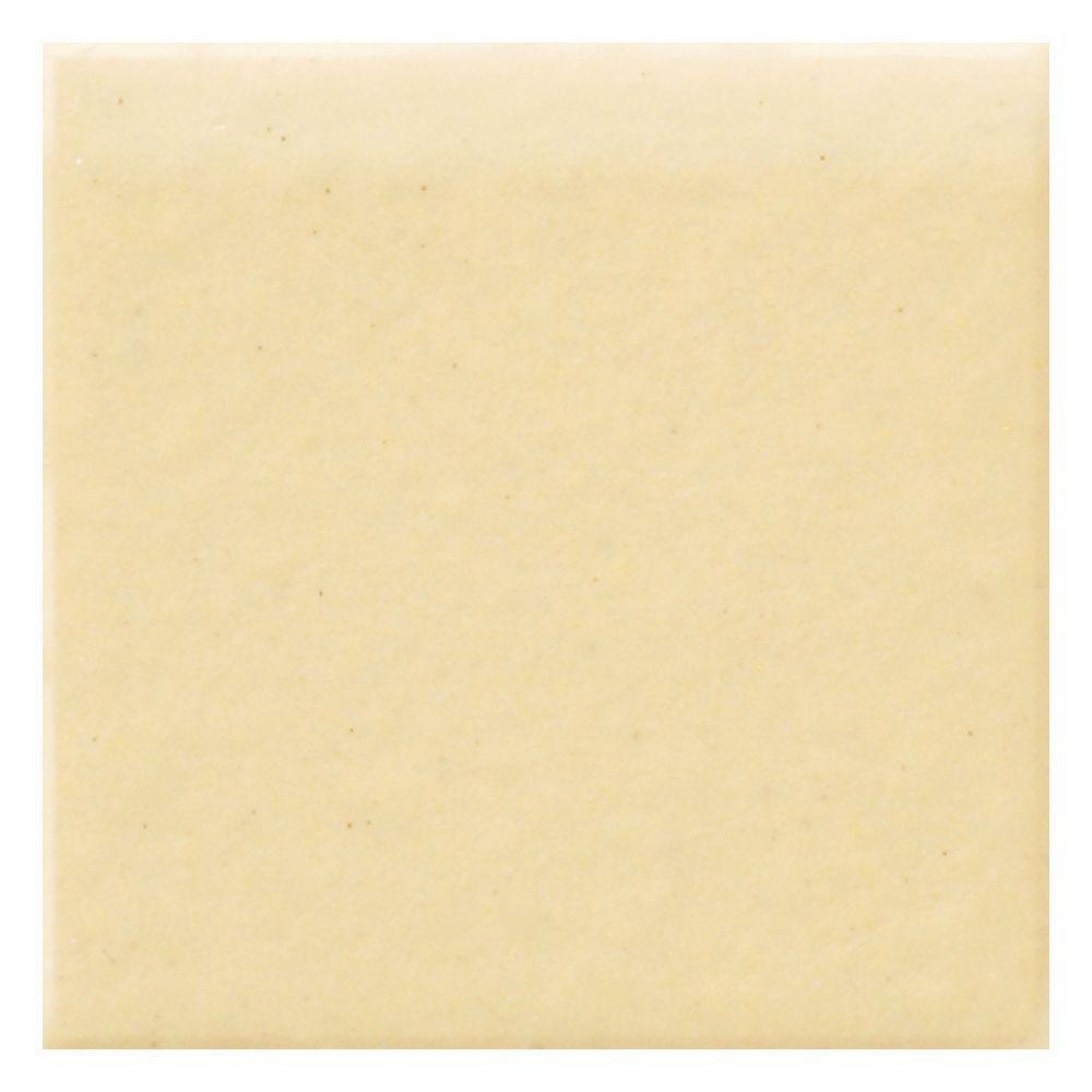 Daltile semi gloss cornsilk 4 14 in x 4 14 in ceramic bullnose daltile semi gloss cornsilk 4 14 in x 4 1 dailygadgetfo Images