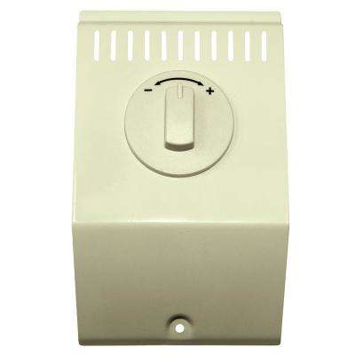 K and CB Baseboard Single Pole Non-Programmable Thermostat Kit, Almond