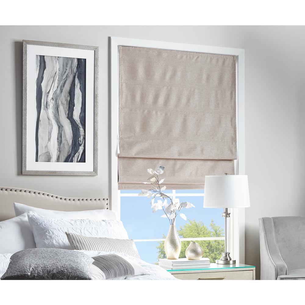 29 Best Roman Blinds By Tonic Living Images On Pinterest: Cut To Width Strie Harmony Mocha Room Darkening Cordless