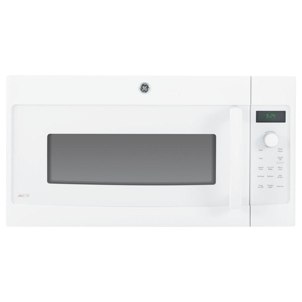 GE Profile Advantium 1.7 cu. ft. Over the Range Speed Cook Convection Microwave in White